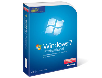 Windows7 Professional 画像